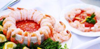 plato de camarones